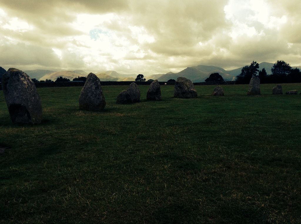 """Castlerigg Stone Circle, Cumbria"" by SusieAnnais licensed under CC BY-SA 3.0."