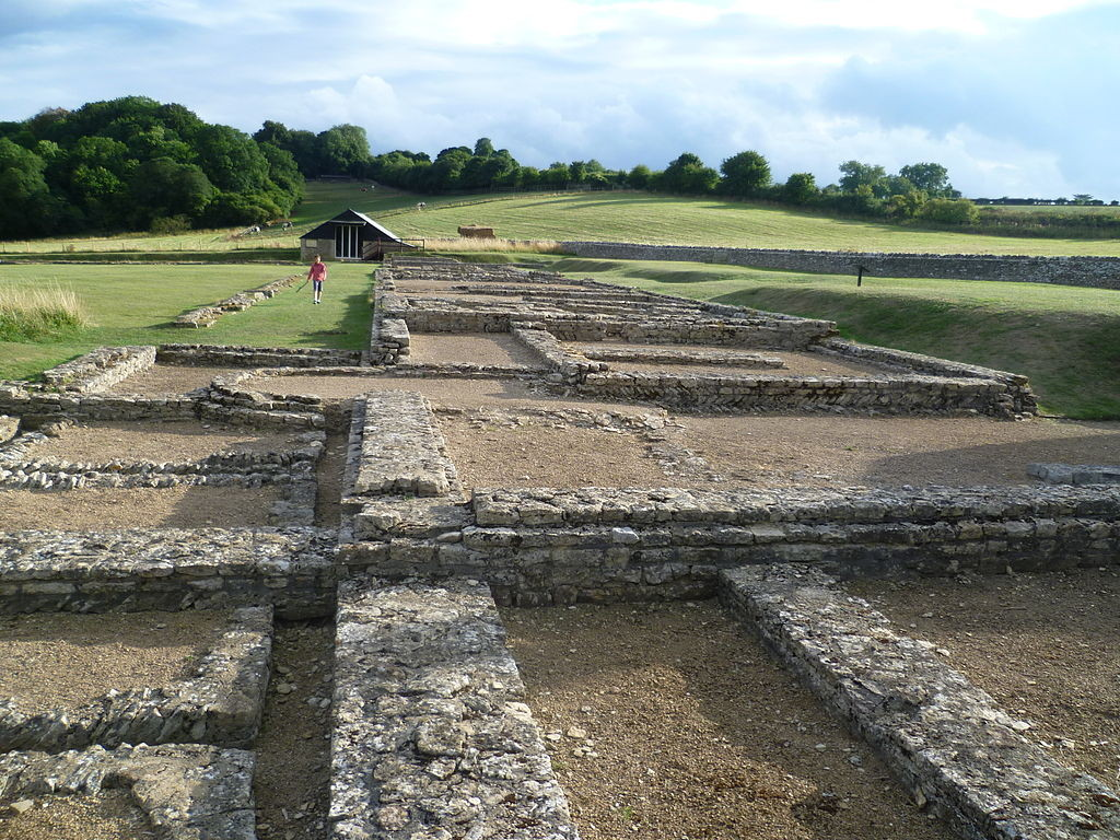 North Leigh Roman Villa by Lolalatorre