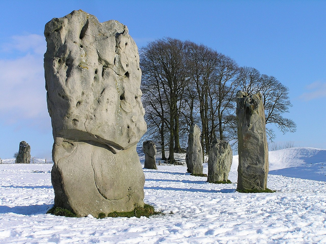 Avebury henge and stone circles, by Paul Adams