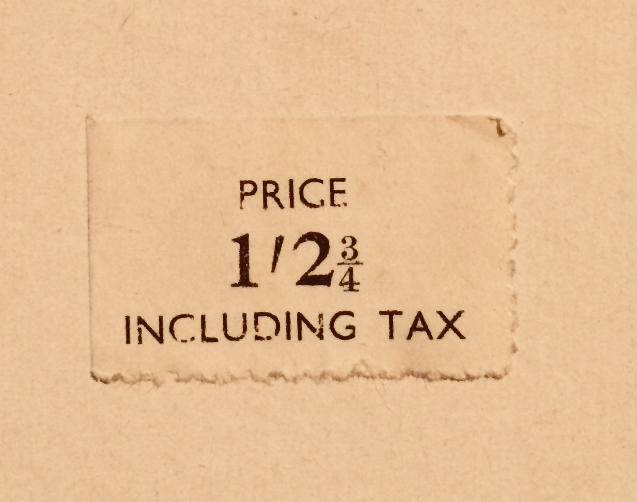 Price label