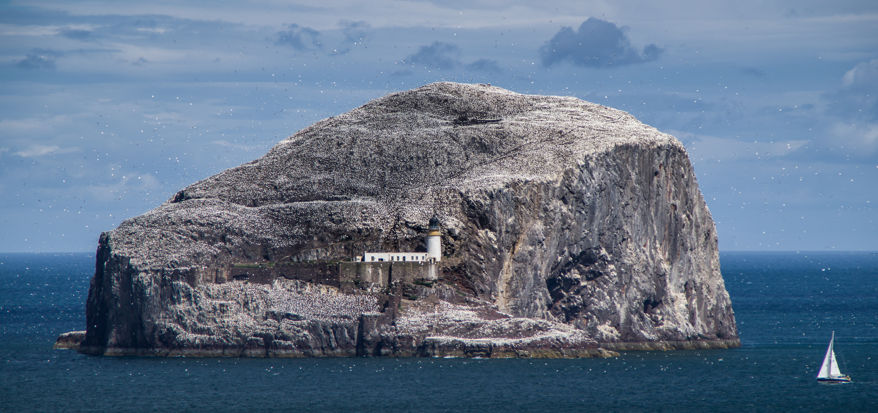 Bass rock lighthouse