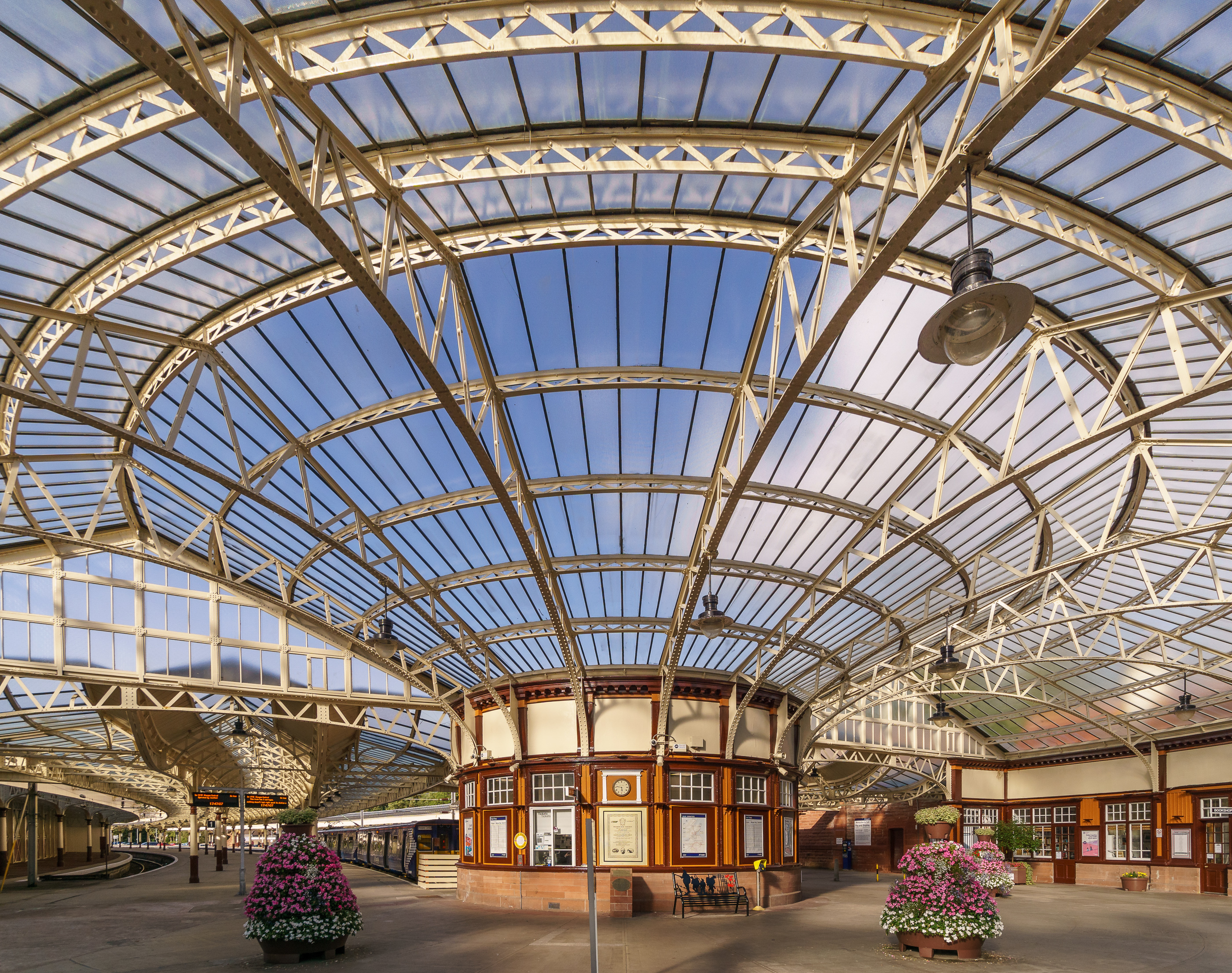 Wemyss Bay railway station concourse