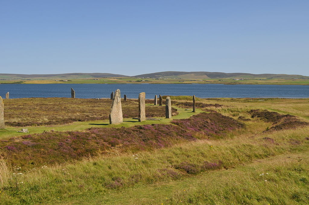 """Ring of Brodgar, Orkney"" by Stevekeiretsuis licensed under CC BY-SA 3.0."