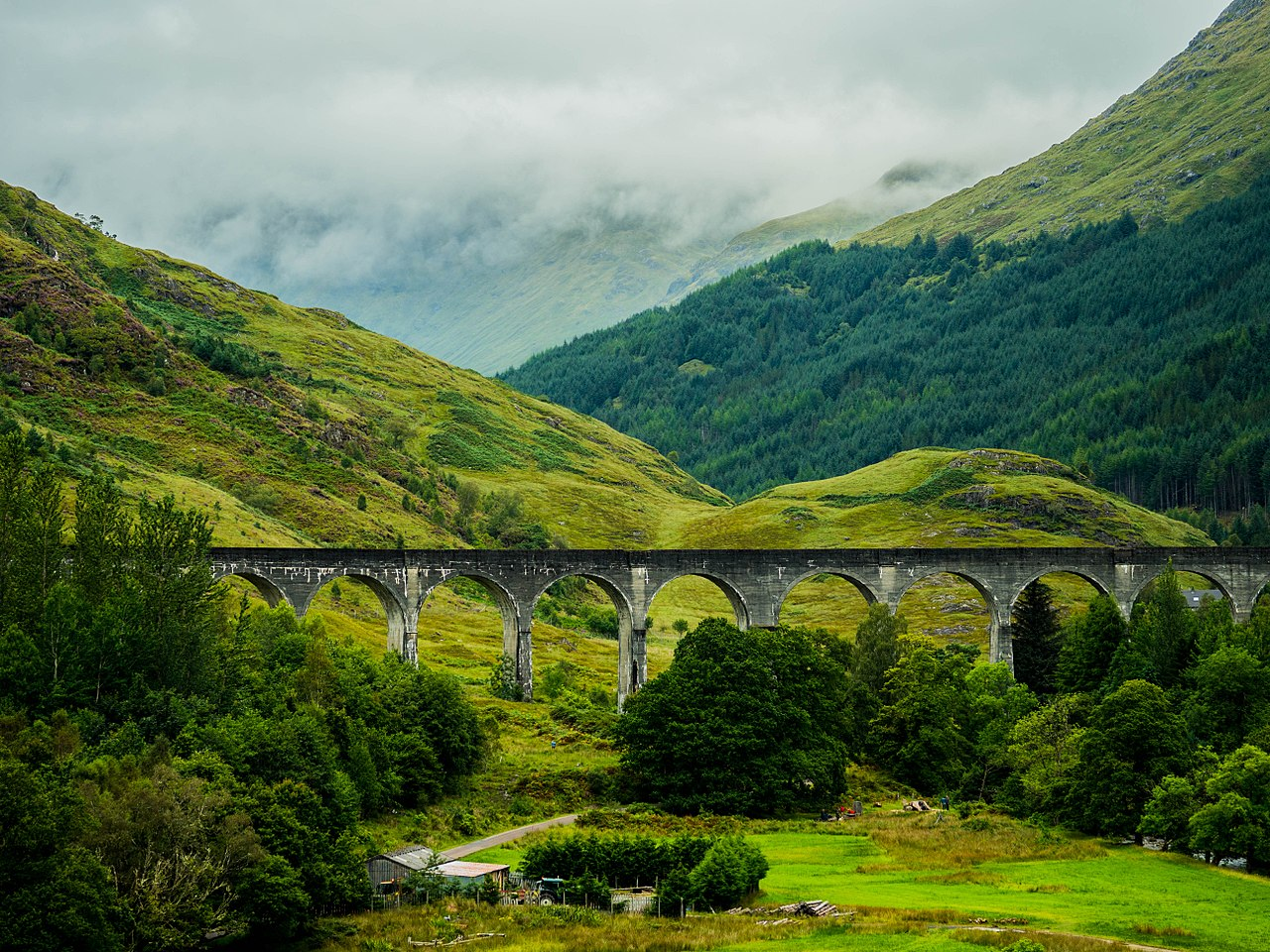 Viaduct at Loch Shiel, by Paul Stümke